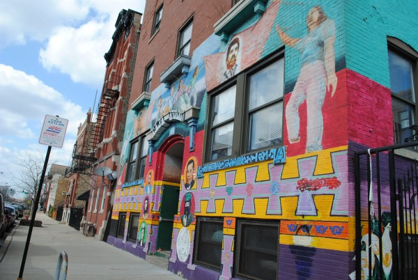 Casa Aztlan has served Pilsen residents since the 1970s. Today, the organization is struggling to keep up with building expenses and operating costs. (The Gate/Lucia Anaya)